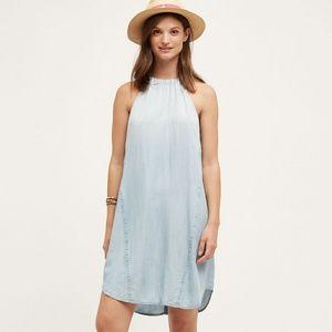Anthropologie Cloth & Stone High-Tide Halter Dress